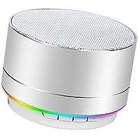 Haut-Parleur Bluetooth Portable avec Basses puissantes, Plage de Connexion Bluetooth et Guide Vocal pour PC Android iOS…