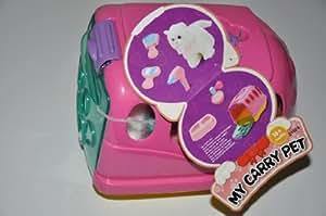 Malette Toilettage + Peluche Chat + Accessoire - My Carry Pet