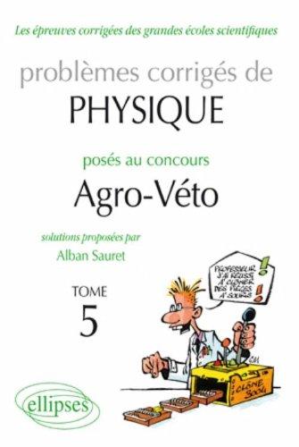 Physique Problemes Corriges au Concours ...
