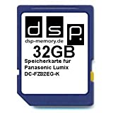 32GB Ultra Highspeed Speicherkarte für Panasonic Lumix DC-FZ82EG-K Digitalkamera