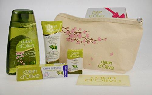 Dalan d olive Körperpflege Set 5- teilg in Geschenktasche Kosmetikset für Sie & Ihn