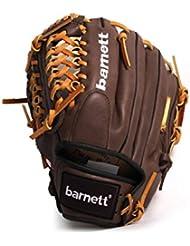 barnett GL-115 gant de baseball cuir de compétition infield 11.5, marron