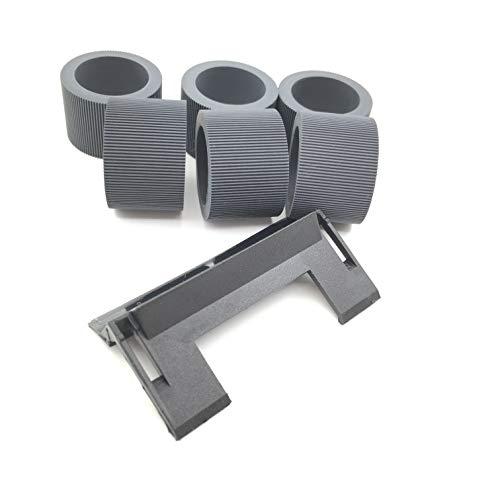 oklili 6x 148-48641484864Pickup Feed Roller Reifen + 1x 1736115Separation Pad Assy für Kodak i1200i1300i1210i1220i1310i1320i2400i2600i2800SS500SS520 - Feed Pickup Roller