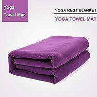 perfecthome Manta de Descanso de Yoga, Manta Auxiliar Iyengar Espesada Manta de meditación Manta cálida Manta Toalla Manta
