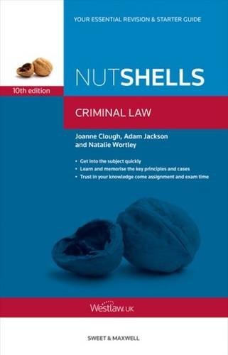 Nutshells Criminal Law