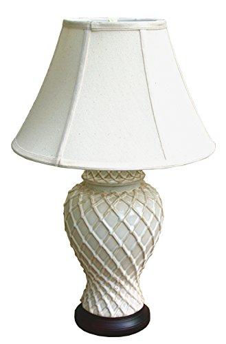 diamond-pattern-cream-ceramic-table-lamp-and-shade