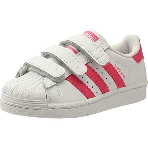 c682e5bf3994a4 7. adidas Unisex-Kinder Superstar Cf C Fitnessschuhe Weiß (Blanco 000) 29 EU