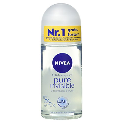 Nivea Deoroller Pure Invisible, 50 ml