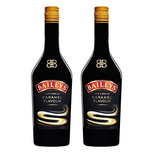 Baileys Caramel, 2er, Original Irish Cream Liqueur, Ireland, Sahne Likör, Alkohol, Alkoholgetränk, Flasche, 17% 700 ml