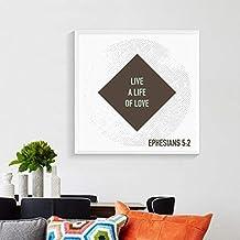 YY Etiqueta Engomada De La Pared Wallpaper Love Never Fails Cartel  Cristiano Pintura Verso 7b2863f11e0