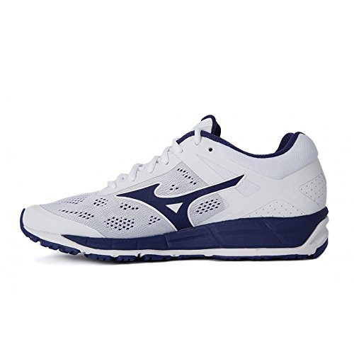 Mizuno Synchro Mx, chaussures de course homme Bianco