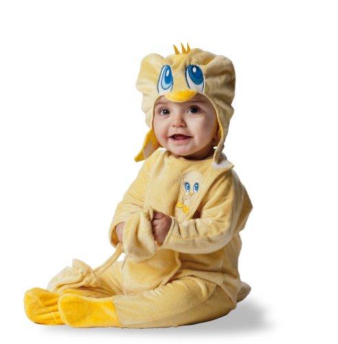 Joker d873-002 baby looney tunes titti costume di carnevale, in busta, giallo