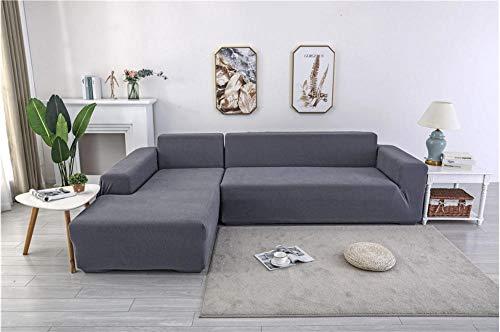 QISILV Funda para sofá elástica Protectora de Cubierta de Sofá Antideslizante Color...