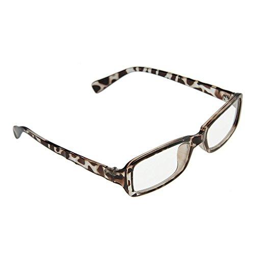 BXT Unisex Trendige Nerdbrille Sonnenbrille Lesebrille Wayfarer Brille Klare Linse 100% UV Schutz Strahlenschutz Ohne Stärke Full Frame Saison Fashionaccessoire für Damen und Herren in Ver. Farbe