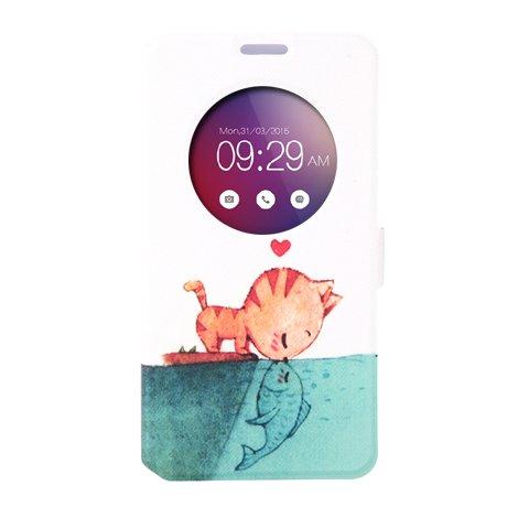 MYLB PU Cuir MYLB Coque Case Etui étui de portefeuille protection Coque Case Cas Cuir Swag Pour Asus Zenfone 2 ZE551ML ZE550ML 5.5 pouce smartphone (pour Asus Zenfone 2 ZE551ML ZE550ML, 5)