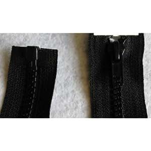 Fermeture éclair à glissière Coloris Noir 70 cm