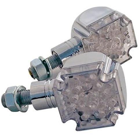 LED FRECCIA Cross, cromato con manico corto, E-GEPR.