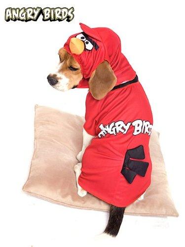 Angry Birds Red Bird Pet Costume Large (Erwachsenen Angry Birds Kostüme)