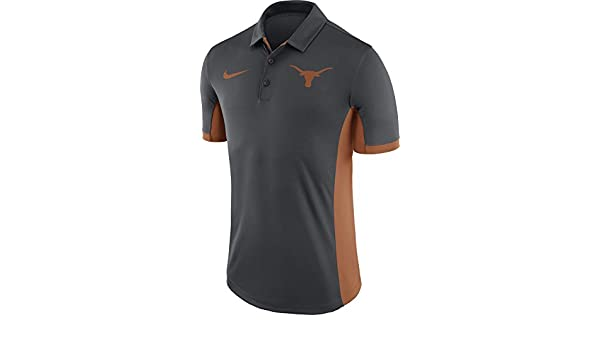 84a3a3dca Nike Men's Texas Longhorns Anthracite Evergreen Performance Polo (S):  Amazon.co.uk: Sports & Outdoors