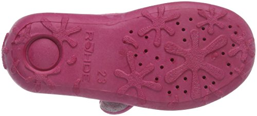 Rohde Boogy, Chaussons avec doublure froide fille Rose - Rose (46)