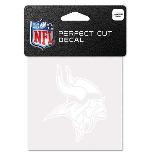 Wincraft Snack-Schale NFL weiß 10,2x 10,2cm Auto Aufkleber, Minnesota Vikings (Minnesota Geburtstag Vikings)