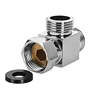 EgoEra® 3 Way Hose Tee Connector, Standard G 1/2