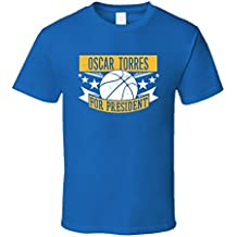 Oscar Torres For President Golden State Basketball Player Sports T Shirt XXXX-L