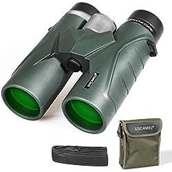 Jumelles 10x42 pour Adultes, Jumelles compactes Professionnelles HD pour l'observation des Oiseaux, Voyages, Observation des étoiles, Camping, Concerts, visites touristiques