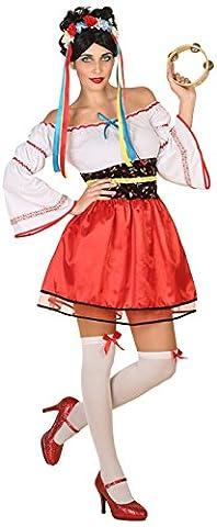 Atosa 38763 Ukrainische Tracht Kostüm, XS-S