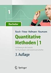 Quantitative Methoden 1.Einführung in die Statistik für Psychologen und Sozialwissenschaftler (Springer-Lehrbuch)