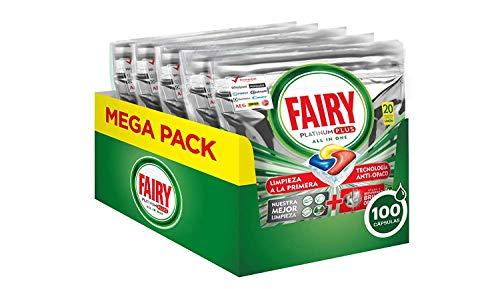 Fairy Platinum Plus Limón - Pastillas lavavajillas