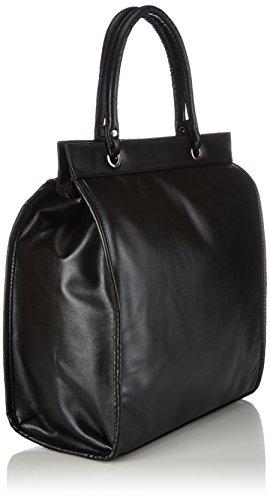 Fabrizio Handtaschen 62089-, Damen Shopper 33x37x17 cm (B x H x T) Schwarz (black 0100)