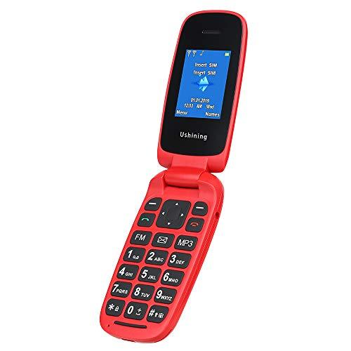 """Volver a la vida simple con este teléfono de funciones. Copia de seguridad de bajo costo para teléfonos móviles. telefono movil para mayores. Fácil en tu bolsillo: Pantalla: 1.8 """"TFT Peso: 75g incluyendo la batería. Tamaño: 94.5 * 47.5 * 17.4 MM Uso ..."""