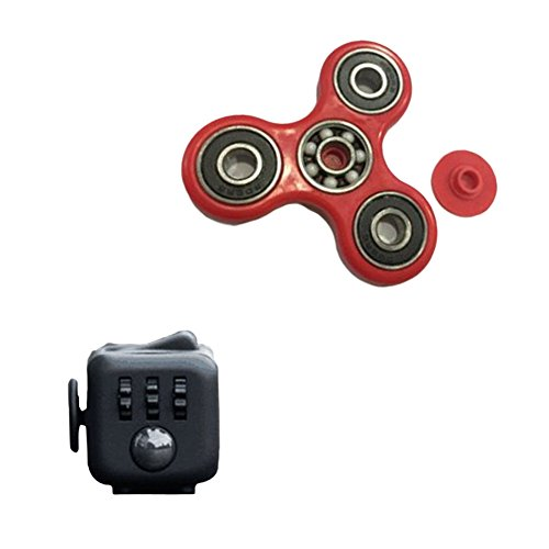 tianhuabao-fidget-dice-anti-anxiety-relieve-stress-and-tri-spinner-fidget-toy-style-1-and-red