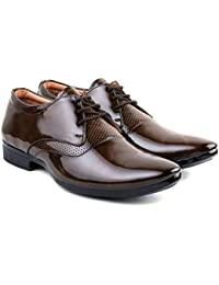 GR8 Men's Formal Synthetic Leather Shoes for Men