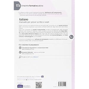 27 TFA. Italiano. Manuale per le prove scritte e o