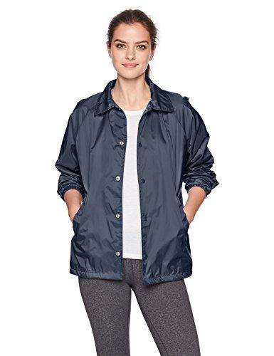 Augusta Sportswear Unisex Nylon Coach Jacke/liniert Größe L Navy