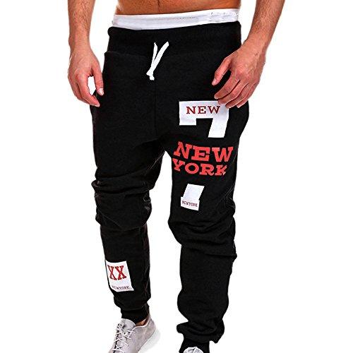 Beikoard Pantaloni Moto Uomo, Pantaloni Uomo Eleganti Negozio Abbigliamento Moto Pantaloni Sportivi da Uomo Pantaloni da Uomo Pantaloni Sportivi(Red,XXXXL)