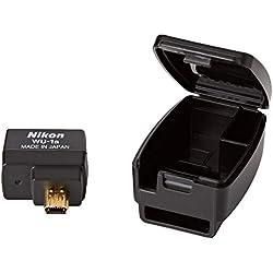 Nikon WU-1a - Transmetteur sans Fil pour Mobile - Adaptateur WLAN - Adaptateur réseau USB (port WLAN 802.11b, port WLAN 802.11g), Noir
