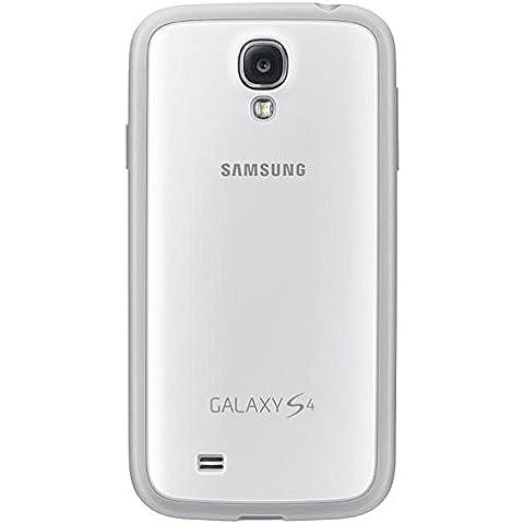 Samsung Protective Cover Plus - Funda para móvil Galaxy S4 (Revestimiento de goma), blanco