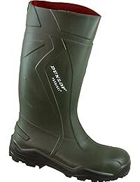 Intex - Calzado de protección de goma para hombre verde verde, color verde, talla 51