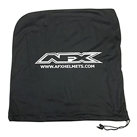 Helmet drawstring storage bag black one size - 3514-0030 - Afx 35140030