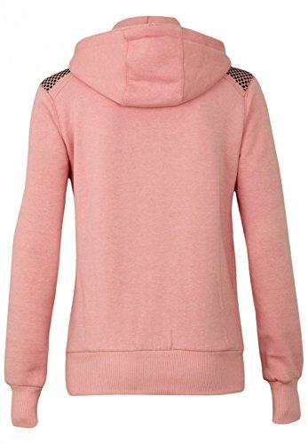 Geographical Norway Sweatshirt coat Fitness Lady Rosa