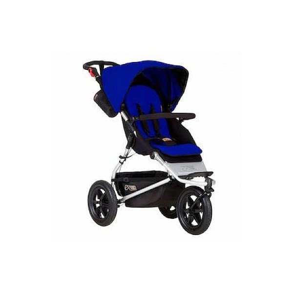 Mountain Buggy Urban Jungle Pushchair (2015) Mountain Buggy One hand fast fold with a hidden automatic frame lock Compact stand fold Hand operated brake, with green and red indicators 2