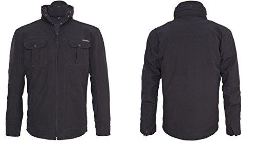 Preisvergleich Produktbild King Kerosin Speedshell Kevlar Softshell Biker Jacke Kevlar S