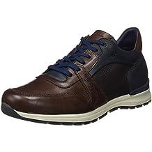 Fluchos- Retail ES Spain 9144, Zapatos Sin Cordones Hombre, Negro (Black), 40 EU