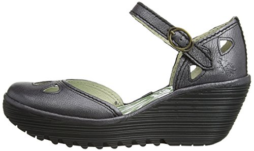 Fly London YUNA - Sandali donna - Grigio (Grau (Pewter 103)), EU 39 (UK 6)