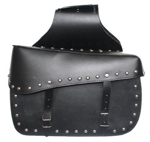 German Wear, Motorrad Satteltasche saddlebag aus Büffelleder