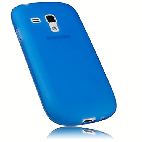 mumbi Coque de protection pour Samsung Galaxy S3 Mini TPU gel silicone Bleu