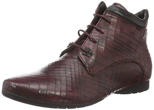 piazza-damen-990962-kurzschaft-stiefel-rot-sangria-black-38-eu